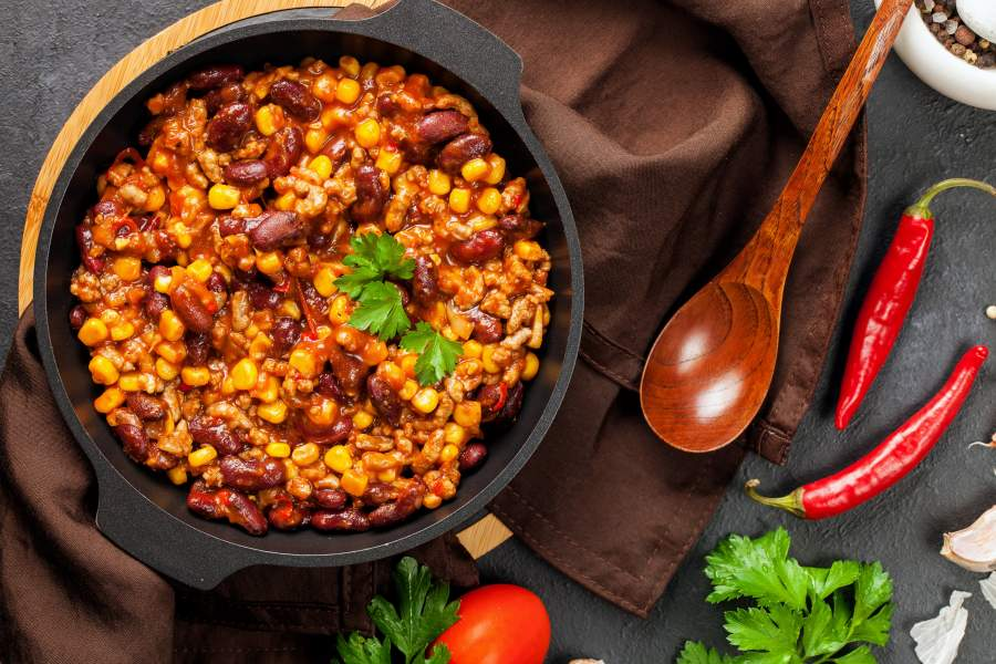 Zackiges Chili con Carne